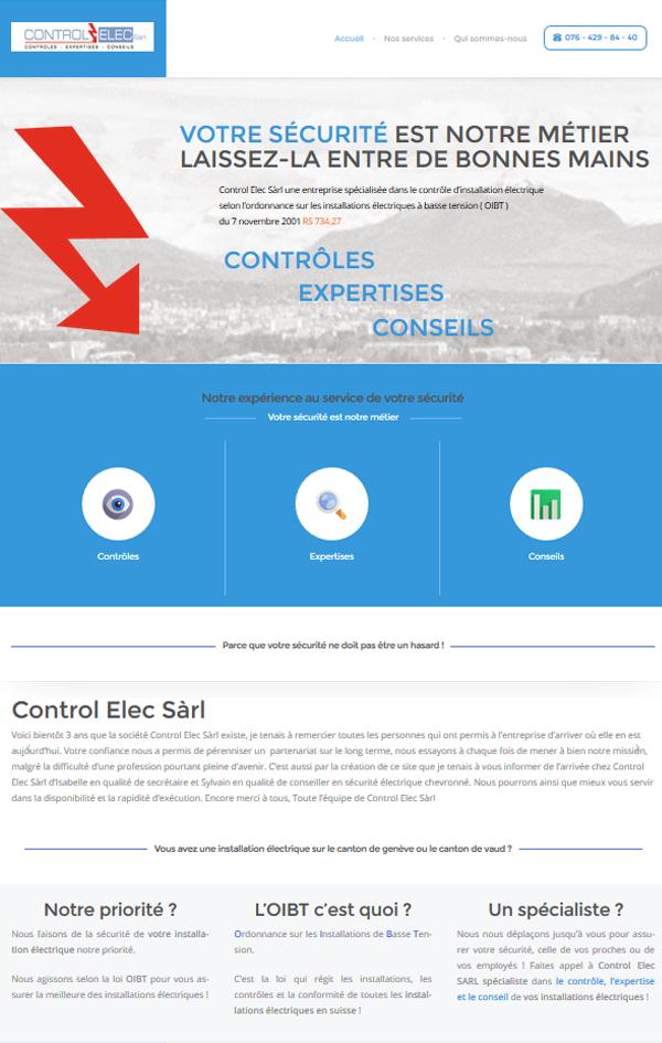site Control Elec Genève