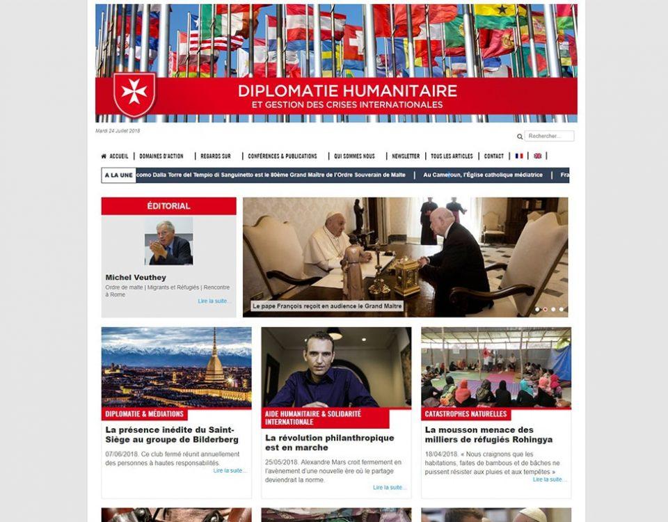 diplomatie humanitaire