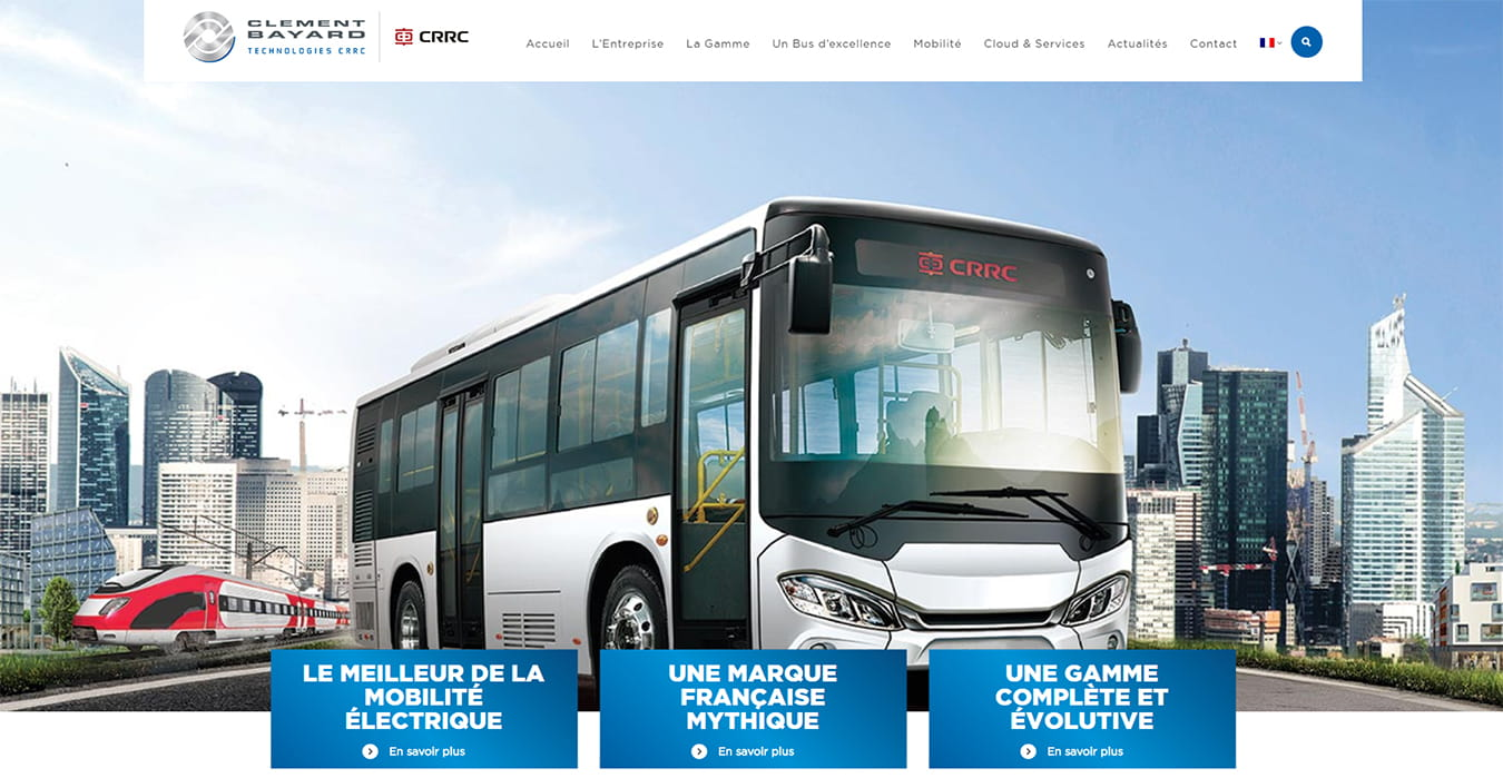 Clément Bayard Site internet realisé par agence web SJ4WEB